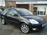 2003 FORD FIESTA 1.4 BLACK 16V 3d 80 BHP £995.00