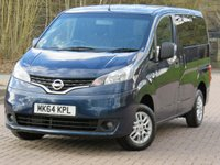 USED 2014 64 NISSAN NV200 1.5 DCI ACENTA COMBI 5d 90 BHP