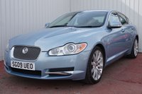USED 2009 09 JAGUAR XF 2.7 PREMIUM LUXURY V6 4d AUTO 204 BHP FANTASTIC SPECIFICATION