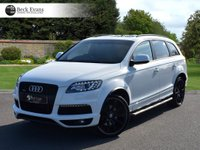 USED 2013 63 AUDI Q7 3.0 TDI QUATTRO S LINE PLUS 5d AUTO 245 BHP PANORAMIC SUNROOF