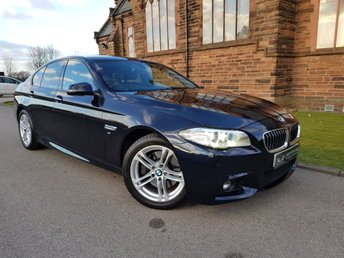 2013 BMW 5 SERIES 3.0 530D M SPORT 4d AUTO 255 BHP £SOLD