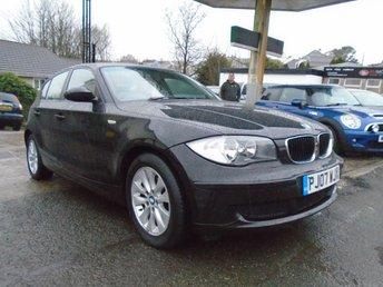 2007 BMW 1 SERIES 2.0 118D ES 5d 141 BHP £3995.00
