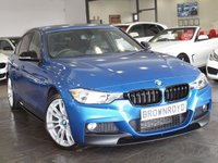 """USED 2013 13 BMW 3 SERIES  320D XDRIVE M SPORT 4d AUTO 181 BHP LEATHER+19"""" ALLOYS+LOW MILES"""