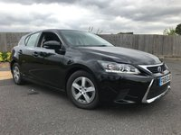 2015 LEXUS CT 1.8 200H S 5d AUTO 134 BHP £12850.00