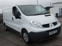 2014 RENAULT TRAFIC 2.0 LL29 DCI S/R P/V 1d 115 BHP FULL SERVICE HISTORY ELECTRIC WINDOWS £7495.00