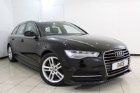 USED 2015 15 AUDI A6 2.0 AVANT TDI ULTRA S LINE 5DR 188 BHP SERVICE HISTORY + LEATHER SEATS + SAT NAVIGATION + PARKING SENSOR + BLUETOOTH + CRUISE CONTROL + CLIMATE CONTROL + MULTI FUNCTION WHEEL + 18 INCH ALLOY WHEELS