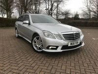 USED 2011 11 MERCEDES-BENZ E CLASS 2.1 E250 CDI BLUEEFFICIENCY SPORT 5d AUTO 204 BHP