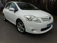 USED 2011 60 TOYOTA AURIS 1.6 TR VALVEMATIC 5d 132 BHP *Bluetooth*