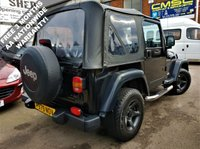 USED 1997 JEEP WRANGLER 2.5 SPORT 3d 121 BHP! p/x welcome! 76K MILES ONLY! TERRAIN TYRES! AUX PORT! 4X4! 2H 4H N 4L GEARS! FULL JEEP SRVC HISTORY! SIDE STEPS! ALLOY WHEELS! RUST FREE! MINT CONDITION! NEW MOT! AA WARRANTY & BREAKDOWN COVER! FULL JEEP HIS+AUX+TERRAIN TYRES+76k MILES+4X4-2H 4H N 4L GEARS+RUST FREE+SIDE STEPS+NEW MOT+AA WARRANTY!
