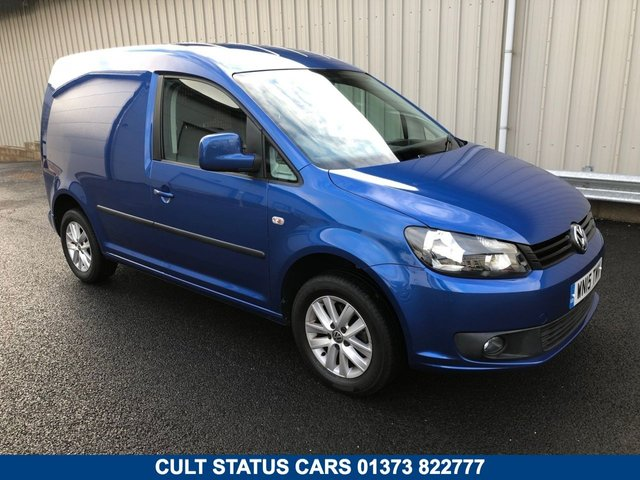 2015 15 VOLKSWAGEN CADDY C20 1.6 TDI HIGHLINE 101 BHP VAN