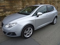 USED 2011 11 SEAT IBIZA 1.4 CHILL 5d 85 BHP
