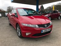 USED 2010 60 HONDA CIVIC 1.8 I-VTEC SI 5d 138 BHP NEED FINANCE? WE STRIVE FOR 94% ACCEPTANCE