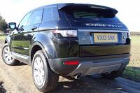USED 2013 13 LAND ROVER RANGE ROVER EVOQUE 2.2 SD4 Pure Tech AWD 5dr FSH Sunroof Sat Nav Leather
