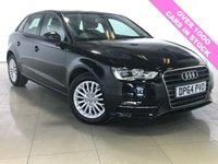 USED 2015 64 AUDI A3 1.6 TDI SE TECHNIK 5d 109 BHP One Owner/Sat Nav/Bluetooth