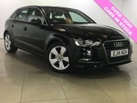 USED 2014 14 AUDI A3 1.6 TDI SPORT 5d 104 BHP Great Car/Bluetooth/DAB Radio
