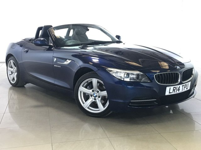 View our 2014 14 BMW Z4 2.0 Z4 SDRIVE20I ROADSTER 2d 181 BHP