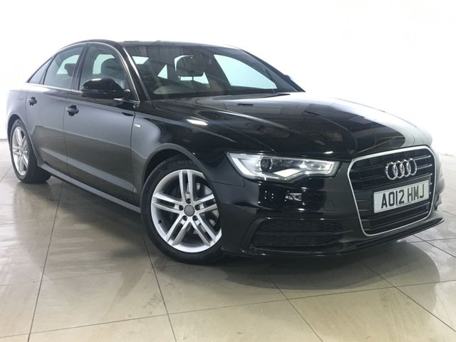 View our 2012 12 AUDI A6 2.0 TDI S LINE 4d 175 BHP