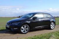 USED 2016 65 SEAT LEON 1.4 EcoTSI FR (Tech Pack) SportCoupe (s/s) 3dr FSSH Sat Nav Half Leather