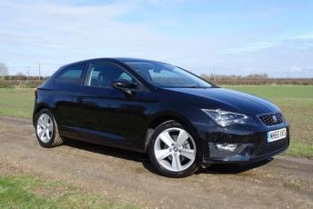 2016 SEAT LEON 1.4 EcoTSI FR (Tech Pack) SportCoupe (s/s) 3dr £12995.00