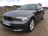2012 BMW 1 SERIES 2.0 118D EXCLUSIVE EDITION 2d 141 BHP £7990.00