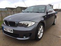 2012 BMW 1 SERIES 2.0 118D EXCLUSIVE EDITION 2d 141 BHP £6990.00