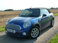 USED 2014 14 MINI CONVERTIBLE 1.6 Cooper 2dr FMSH Alloys A/C CD BT PS