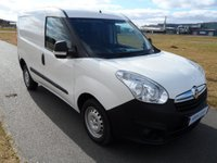 USED 2014 64 VAUXHALL COMBO 1.3 CDTi 16v 2000 L1H1 Panel Van 3dr EXCELLENT CONDITION!!