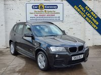 USED 2013 13 BMW X3 2.0 XDRIVE20D M SPORT 5d AUTO 184 BHP Service History SATNAV Leather 0% Deposit Finance Available