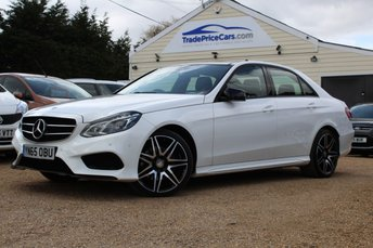 2015 MERCEDES-BENZ E-CLASS 2.1 E220 BLUETEC AMG NIGHT EDITION PREMIUM 4d AUTO 174 BHP £19500.00