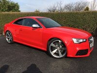 2012 AUDI RS5 4.2 RS5 FSI QUATTRO 2d AUTO 444 BHP, OUTSTANDING PERFORMANCE AND LOOKS TO MATCH £27889.00