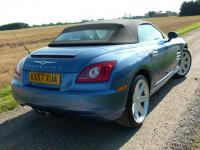 USED 2007 57 CHRYSLER CROSSFIRE 3.2 Roadster 2dr FSH 7 Stamps Sat Nav Leather