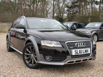 2011 AUDI A4 ALLROAD 2.0 ALLROAD TDI QUATTRO 5d 168 BHP £11000.00