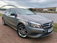 2014 MERCEDES-BENZ A CLASS 1.5 A180 CDI BLUEEFFICIENCY SPORT 5d 109 BHP £12990.00