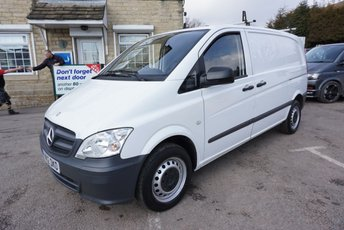 2012 MERCEDES-BENZ VITO 2.1 CDI 110 5DR ( ONLY 39000 MILES ! ) £7989.00