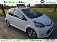 USED 2013 13 TOYOTA AYGO 1.0 VVT-i Fire Hatchback 5dr Petrol Manual (99 g/km, 67 bhp) Full Service History!