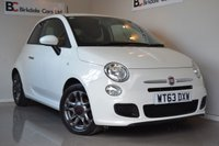 USED 2014 P FIAT 500 1.2 S 3d 69 BHP Immaculate - Full Service History - Air Conditioning - Alloy Wheels - Bluetooth - Half Leather - Must Be Seen