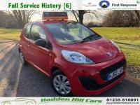 2012 PEUGEOT 107 1.0 12v Access Hatchback 3dr Petrol Manual (99 g/km, 68 bhp) £3495.00