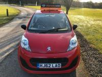 USED 2012 62 PEUGEOT 107 1.0 12v Access Hatchback 3dr Petrol Manual (99 g/km, 68 bhp) Full Service History [6]