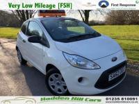 2012 FORD KA 1.2 Studio Hatchback 3dr Petrol Manual (s/s) (115 g/km, 69 bhp) £3750.00