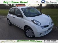 USED 2010 10 NISSAN MICRA 1.2 16v Visia Hatchback 5dr Petrol Manual (139 g/km, 79 bhp) Only 1 Former Owner!