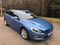 USED 2013 63 VOLVO V60 1.6 D2 SE LUX 5d 113 BHP 6 MONTHS PARTS+ LABOUR WARRANTY+AA COVER