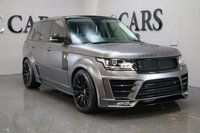 USED 2016 66 LAND ROVER RANGE ROVER 3.0 TDV6 VOGUE 5d AUTO 255 BHP FULL LUMMA CLR R GT EVO CONVERSION + BESPOKE IVORY AND BLACK LEATHER INTERIOR, PANORAMIC GLASS SUNROOF, SATELLITE NAVIGATION, POWER TAILGATE, HEATED ELECTRIC MEMORY SEATS, 4 ZONE CLIMATE CONTROL, HEATED REAR SEATS, AUTO BI-XENON HEADLIGHTS + POWER WASH, HEATED LEATHER MULTI FUNCTION STEERING WHEEL, MERIDIAN PREMIUM SURROUND SOUNDCRUISE CONTROL,