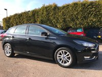 USED 2015 64 FORD FOCUS 1.6 ZETEC 5d AUTOMATIC WITH ONLY ONE PRIVATE OWNER FROM NEW  NO DEPOSIT  PCP/HP FINANCE ARRANGED, APPLY HERE NOW
