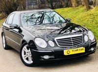 2008 MERCEDES-BENZ E CLASS 3.0 E280 CDI AVANTGARDE 4d AUTO 187 BHP £7500.00