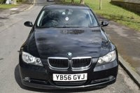 USED 2007 56 BMW 3 SERIES 2.0 318D ES 4d 121 BHP SERVICE HISTORY, 6 SPEED MANUAL GEARBOX, CD PLAYER, ALLOY WHEELS