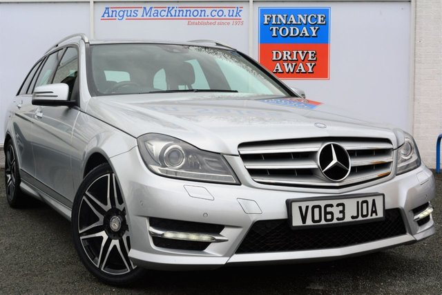 2013 63 MERCEDES-BENZ C CLASS 2.1 C220 CDI BLUEEFFICIENCY AMG SPORT PLUS 5d AUTO 168 BHP