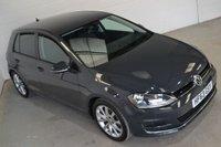 2013 VOLKSWAGEN GOLF 2.0 GT TDI BLUEMOTION TECHNOLOGY 5d 148 BHP £11250.00