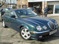 2000 JAGUAR S-TYPE 3.0 SE V6 4d AUTO 240 BHP £1395.00