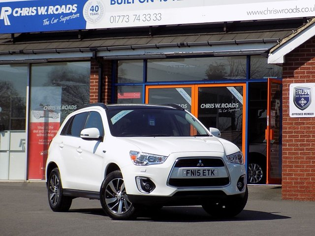 USED 2015 15 MITSUBISHI ASX 1.8 DI-D 4 5dr * Pan Roof Nav & Leather * ** HUGE SPEC **