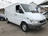 2004 MERCEDES-BENZ SPRINTER 2.7 316 CDI MWB 1d 154 BHP 2 KEEPERS  £5995.00